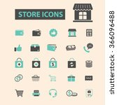 store  shopping  retail  sales  ... | Shutterstock .eps vector #366096488