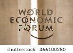 davos  switzerland   jan 21 ... | Shutterstock . vector #366100280