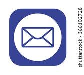 mail icon  vector illustration. ...