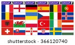 flags football championship are ...   Shutterstock .eps vector #366120740