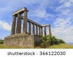 national monument of scotland... | Shutterstock . vector #366122030