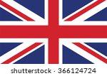 united kingdom flag | Shutterstock .eps vector #366124724