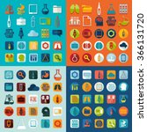 set of medicine icons | Shutterstock .eps vector #366131720