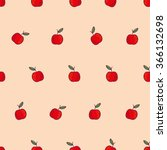 colored vector seamless pattern ... | Shutterstock .eps vector #366132698