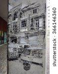 vitry sur seine  france  24 dec ... | Shutterstock . vector #366146360