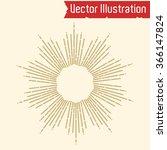 ornamental round lace   shine.... | Shutterstock .eps vector #366147824