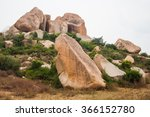 Hampi  India. Boulder Rocks On...
