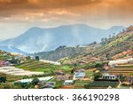 neighborhood of dalat  vietnam. ... | Shutterstock . vector #366190298