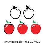 Red Apple   Vector Illustratio...