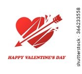 heart. valentine's day | Shutterstock .eps vector #366233558