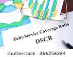 debt service coverage ratio     ... | Shutterstock . vector #366256364