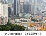 hong kong   june 01  2015  view ... | Shutterstock . vector #366259649