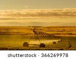 irrigation sprinkler watering...