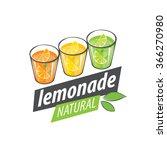logo for lemonade | Shutterstock .eps vector #366270980