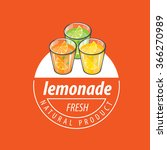 logo for lemonade | Shutterstock .eps vector #366270989
