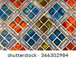 Real Colourful Tile Background...