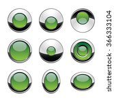 blank green web buttons for... | Shutterstock .eps vector #366333104