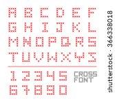 Cross Font Cross Stitch Fonts...