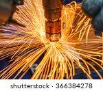 industrial welding automotive... | Shutterstock . vector #366384278