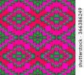 abstract fractal kaleidoscopic... | Shutterstock . vector #366386249