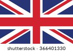 united kingdom flag | Shutterstock .eps vector #366401330