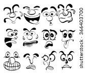 face | Shutterstock .eps vector #366403700