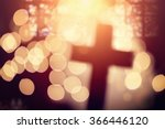 abstract defocussed cross... | Shutterstock . vector #366446120