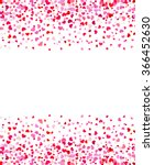 vector background with hearts.... | Shutterstock .eps vector #366452630