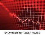 Stock Market Graph And Bar...
