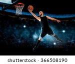 photo of basketball player...   Shutterstock . vector #366508190