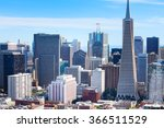 panorama of san francisco... | Shutterstock . vector #366511529