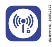 wireless network access is open ...   Shutterstock .eps vector #366513926