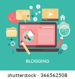 template blogging infographics. ...