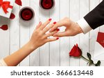 Romantic Proposal  Wedding Or...