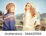 image of beautiful teenagers... | Shutterstock . vector #366620504