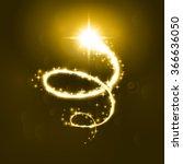 Glowing Magic Spiral Salute An...