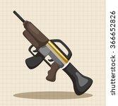 weapon gun theme elements | Shutterstock .eps vector #366652826