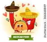 postcard valentine's day.... | Shutterstock .eps vector #366668849