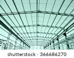 steel frame structure | Shutterstock . vector #366686270