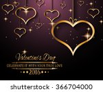 valentine's day background for... | Shutterstock .eps vector #366704000