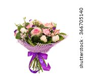 beautiful flower bouquet... | Shutterstock . vector #366705140
