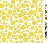round seamless pattern.... | Shutterstock .eps vector #366705770