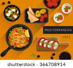 food illustration  ... | Shutterstock .eps vector #366708914