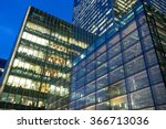 business office building in... | Shutterstock . vector #366713036