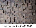 wood wall. | Shutterstock . vector #366727040