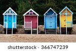 Beach Huts At Wells Next The...