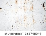 rusty painted metal surface on... | Shutterstock . vector #366748049