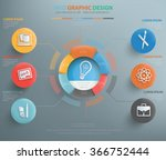 education info graphic design  ... | Shutterstock .eps vector #366752444