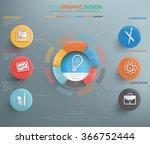 education info graphic design  ... | Shutterstock .eps vector #366752444