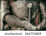 blurred image of knight armor... | Shutterstock . vector #366753809